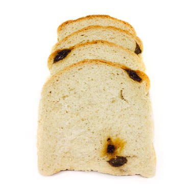 Wacky White Rocky Raisins Bread