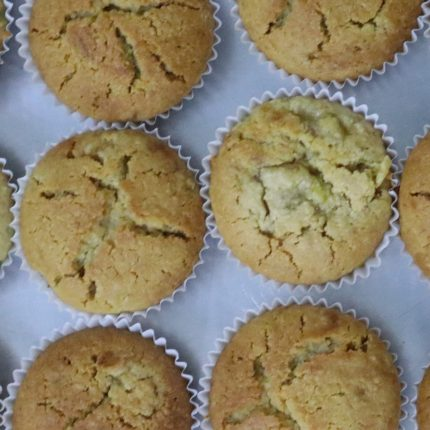 Veracious Vanilla Muffins (Gluten-free)